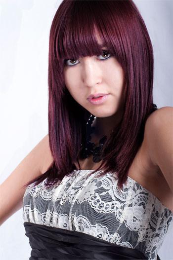 Hair colour changed