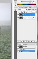 Photoshop tutorial sharpening