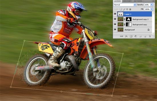motocross - realign the wheels
