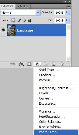 Add a Photo Filter