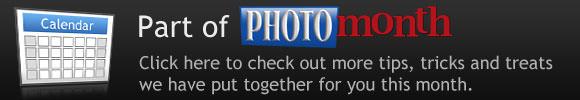 ePHOTOzine's Photo Month calendar