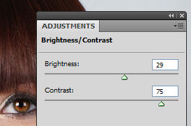 Brightness adjustment