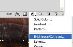 Brightness/Contrast menu