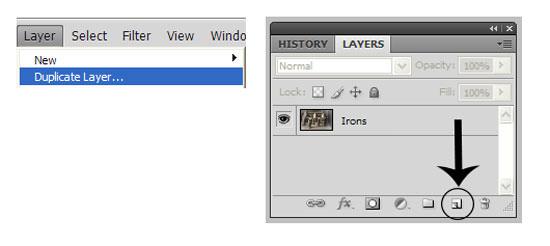 Duplicate a Layer