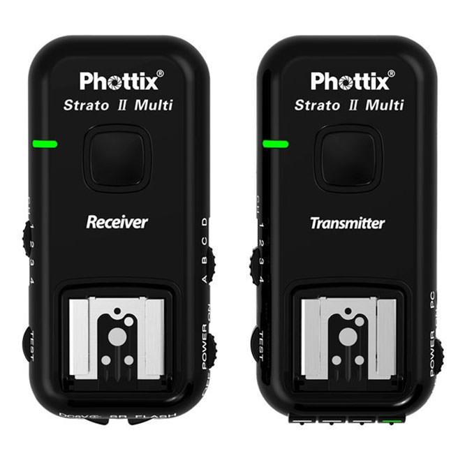 Phottix Strato II Multi 5in1 Wireless Flash Trigger Set