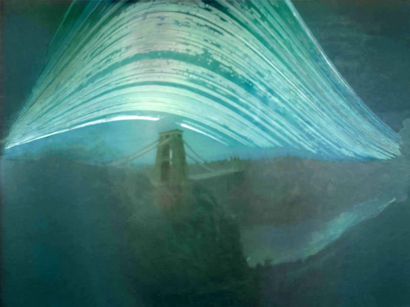 Suspension Bridge Solargraph