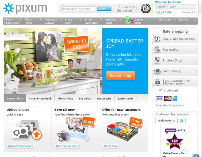Pixum online printing