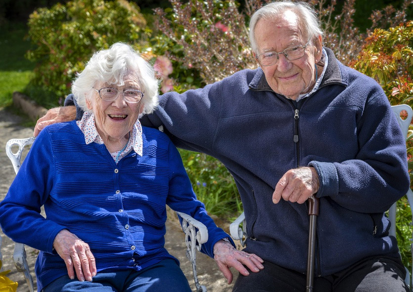 digiman parents in garden