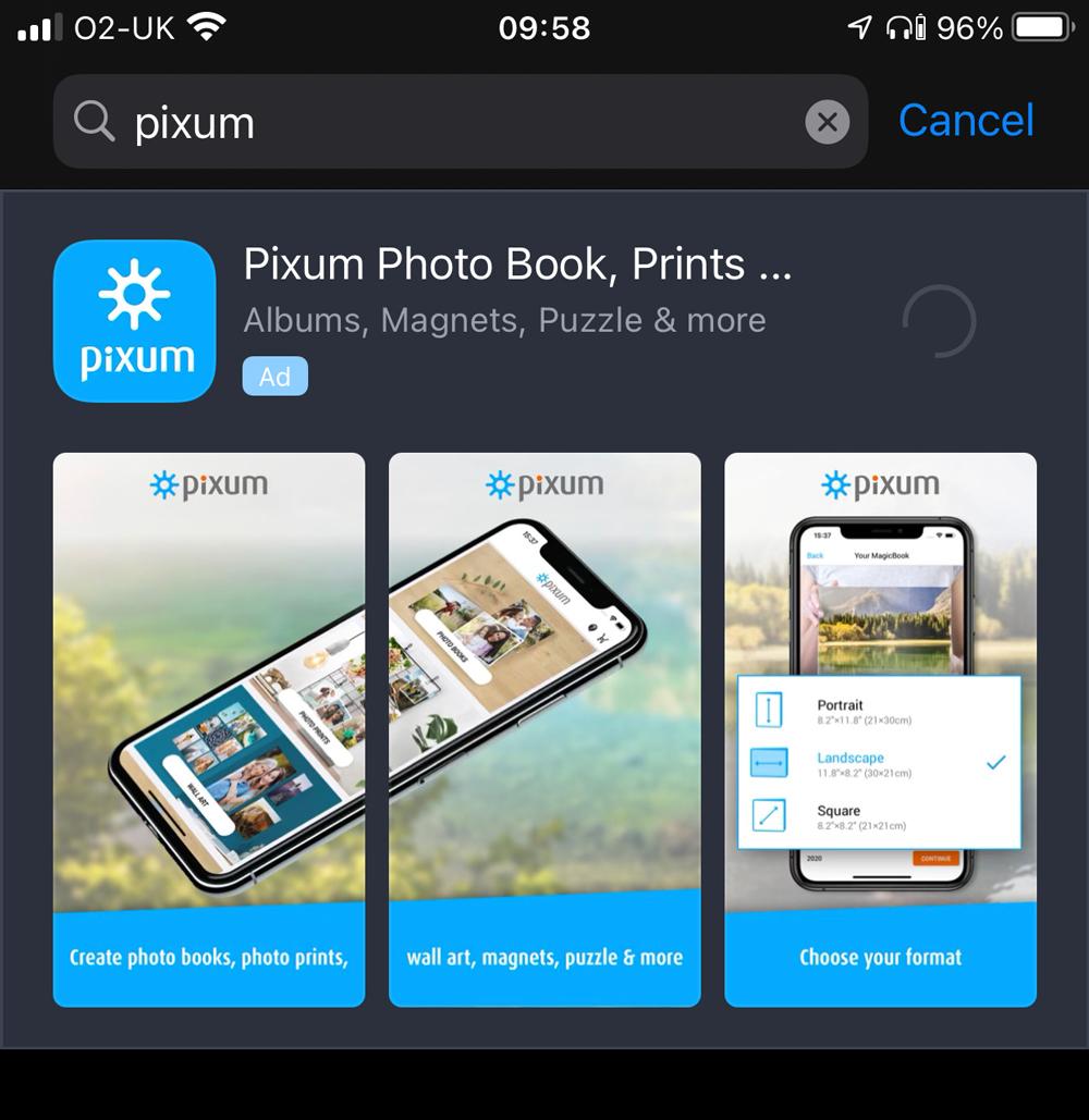 Pixum App