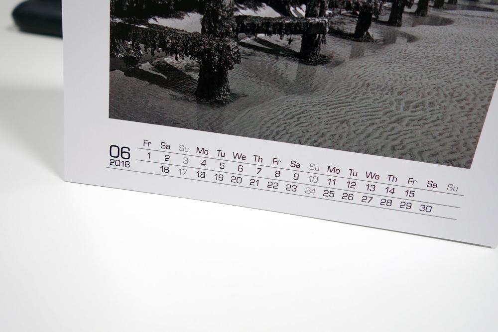 Pixum Desk Calendar