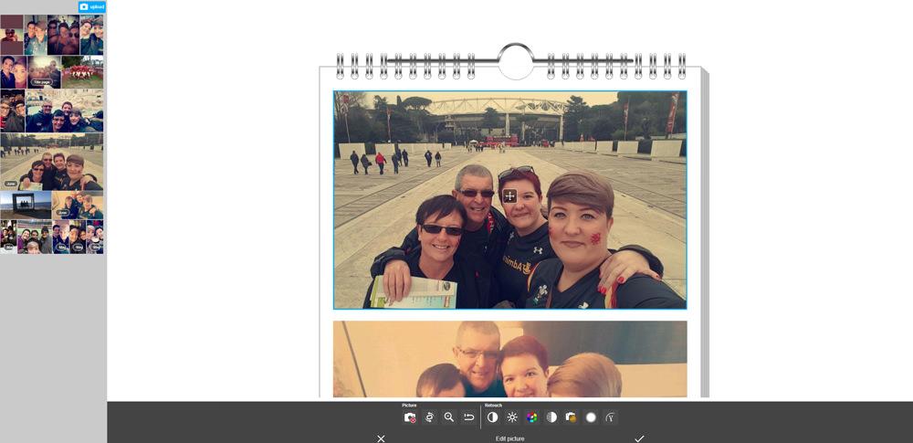 Pixum Calendar Editor