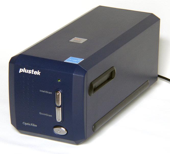 Plustek 8100 Main View