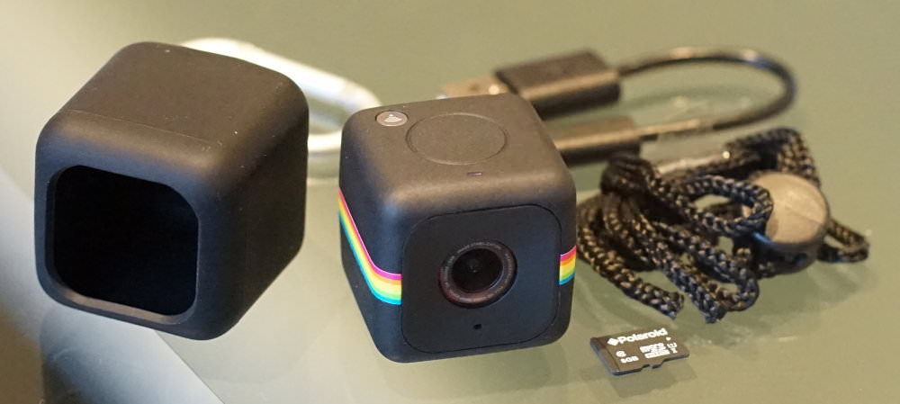 Polaroid Cube Plus Black (6)