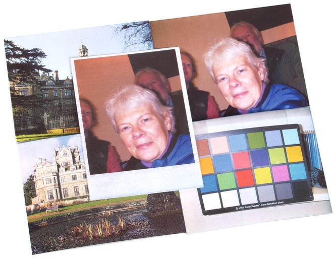 Polaroid Z340 Prints