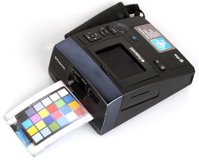 Polaroid Z340 Zink Printing