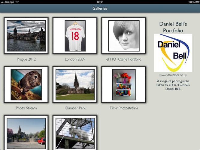Portfolio Pro For iPad Screenshot