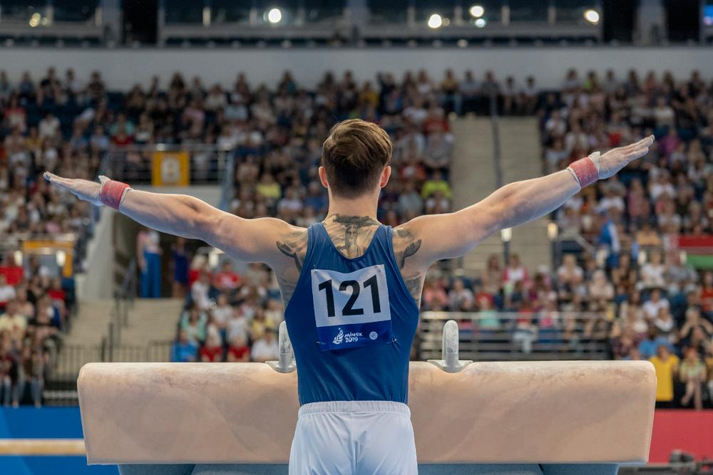 Brinn Bevan gymnastics