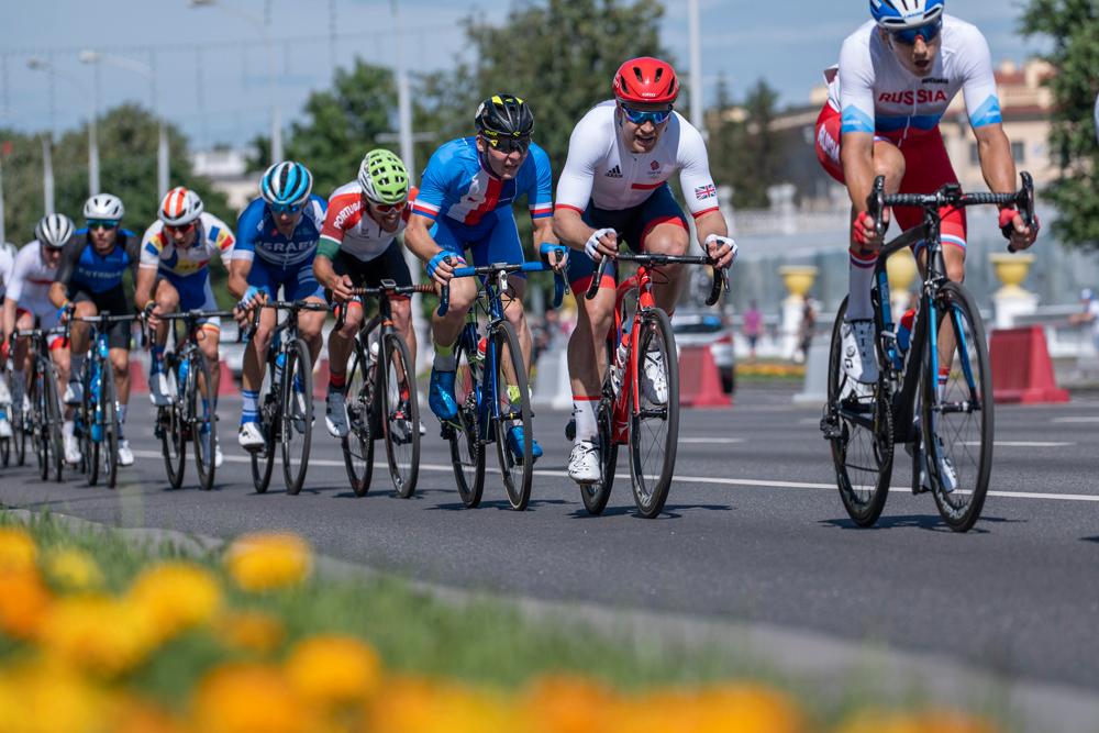 Gabriel Cullaigh cyclist