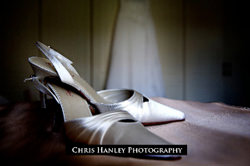 Bride shoes by Chris Hanley