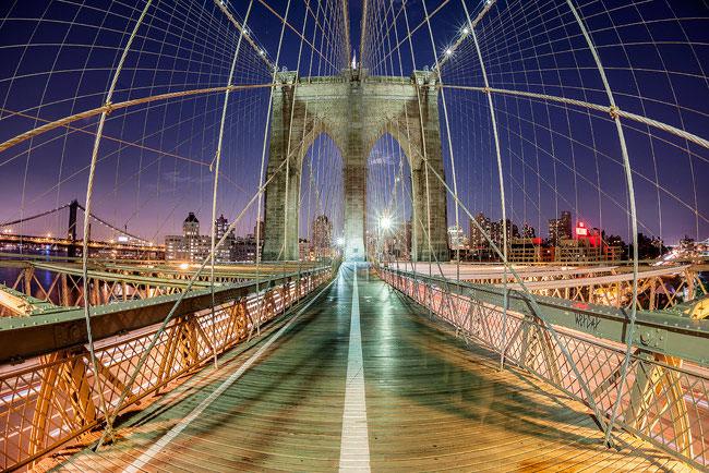 Brooklyn Bridge suspension cables