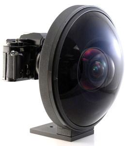 Thumbnail : Rare Nikon 220 Degree FOV Fisheye Lens For Sale