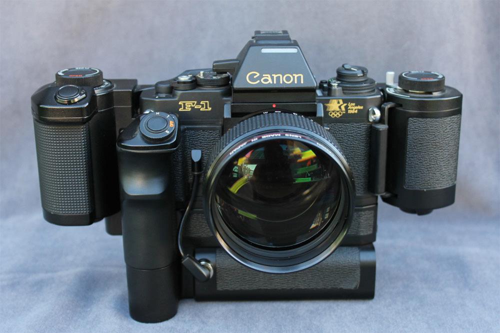 Canon manual-focus cameras