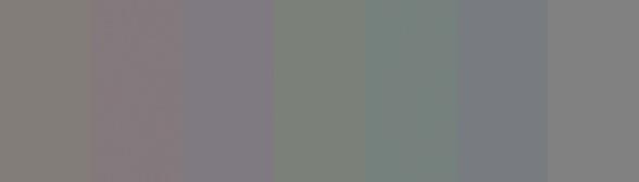 Row of grays