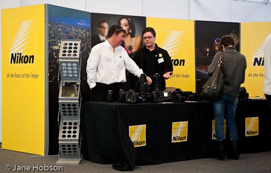 Nikon at Vision 09