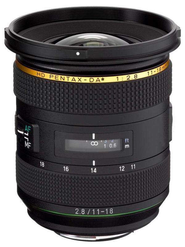 Pentax Da 11 18mm F2 8 V