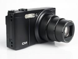 Ricoh CX4 front lens