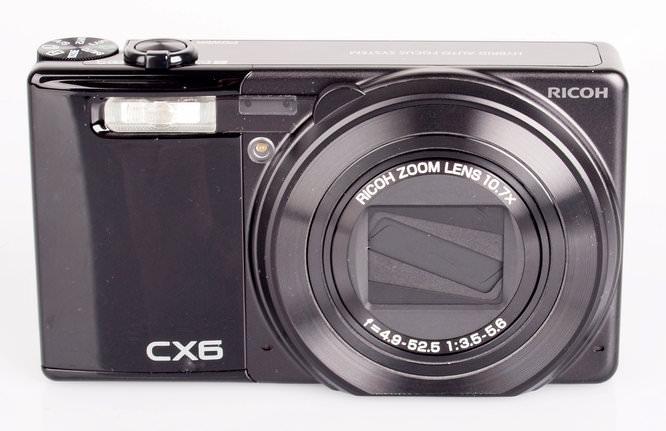 Ricoh CX6 Front