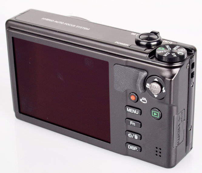 Ricoh CX6 Screen