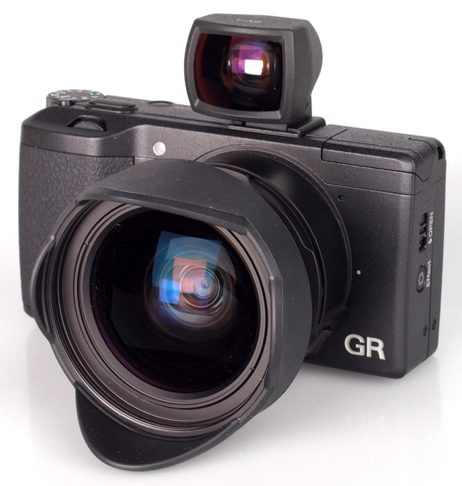 Ricoh Gr With Wide Adapter (2)