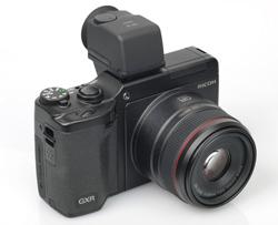 Ricoh GXR  viewfinder