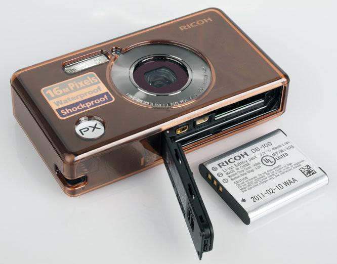 Ricoh PX Battery