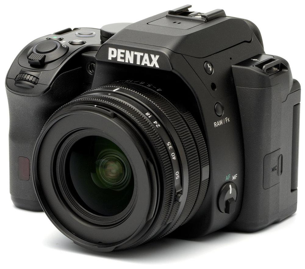 Pentax K-mount camera