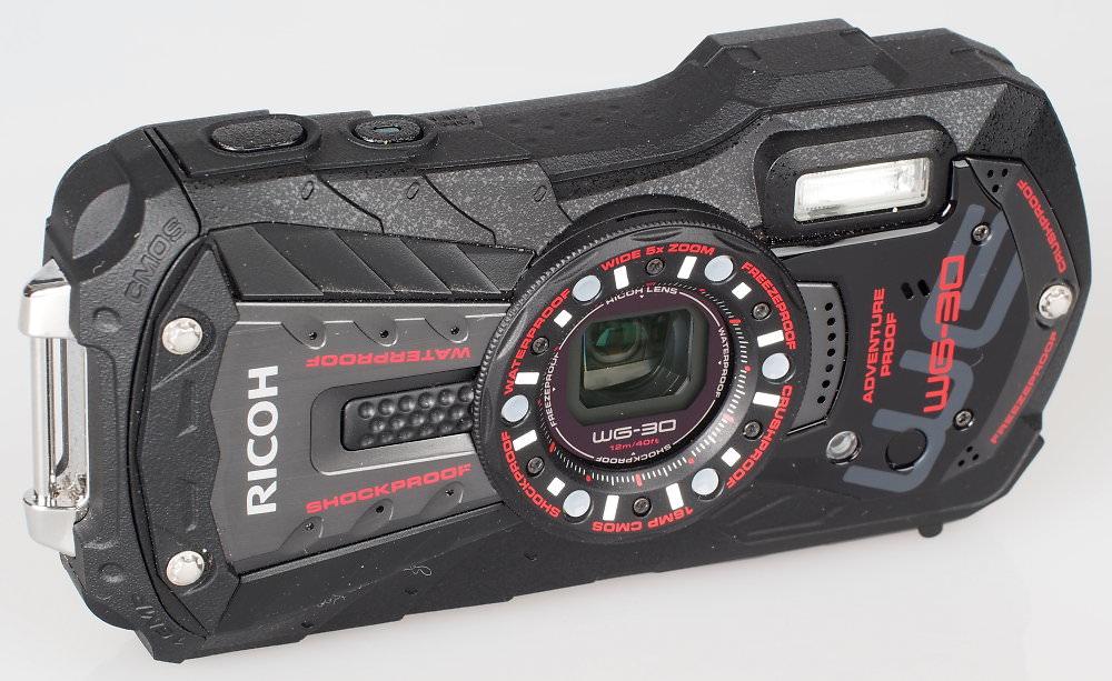 Ricoh WG30 Black (2)