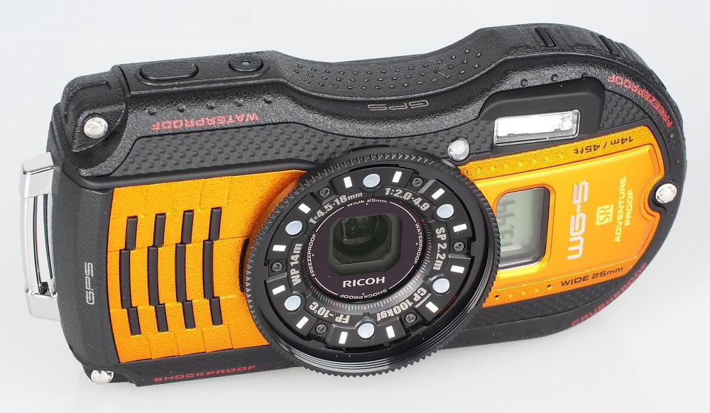 Ricoh WG5 Orange (2)