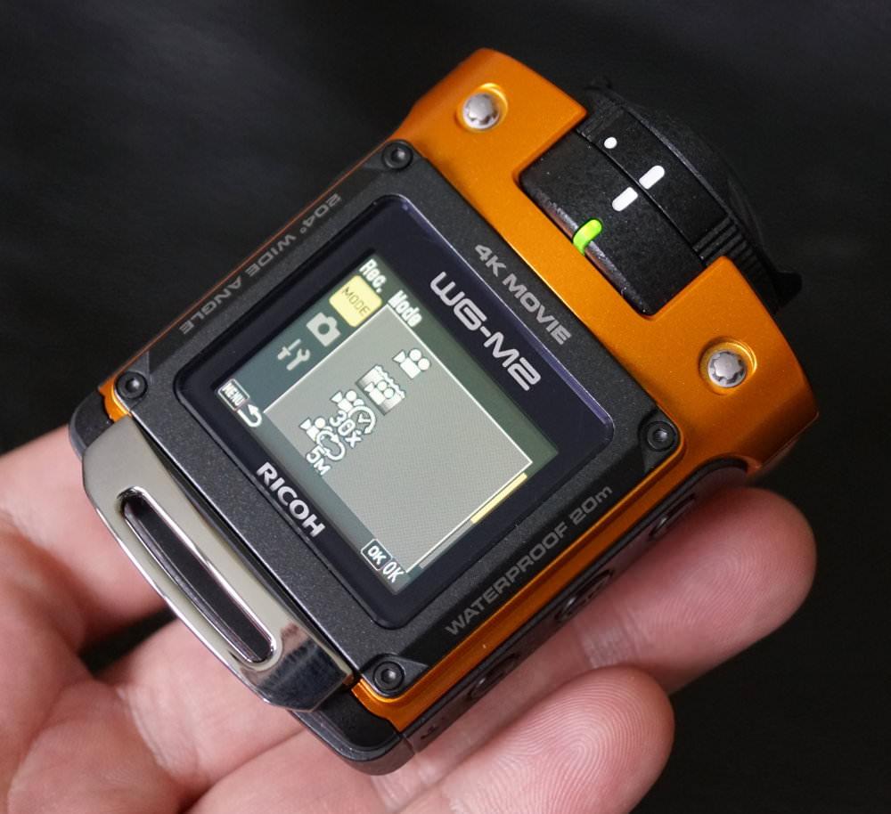 Ricoh WG M2 Orange (7)