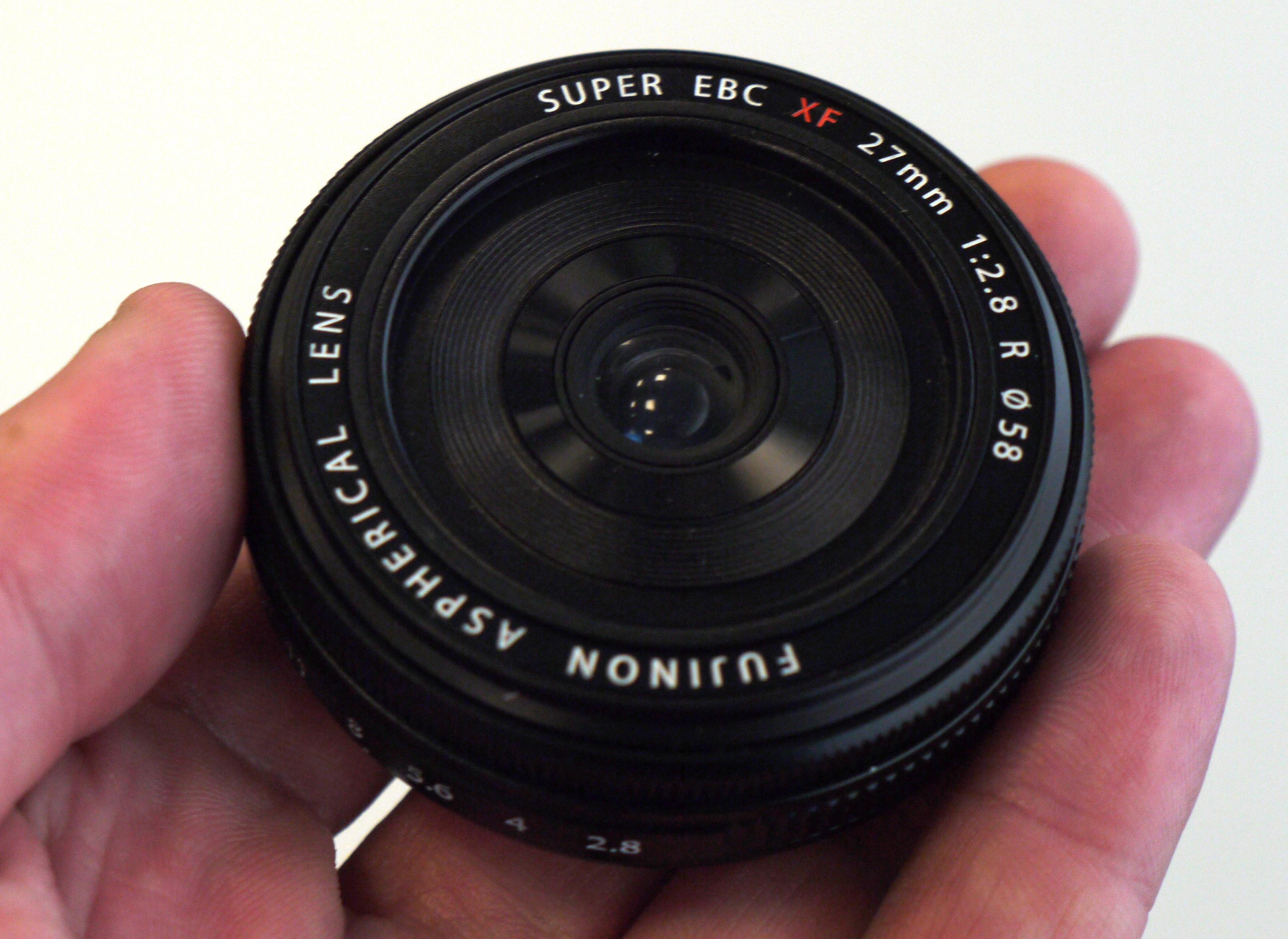 Fujifilm X 14mm 18-55mm 27mm Future Lenses Hands-On | ePHOTOzine