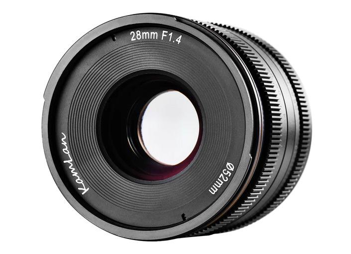 Sainsonic Kamlan 28mm F 1 4 Lens Coming Soon Ephotozine