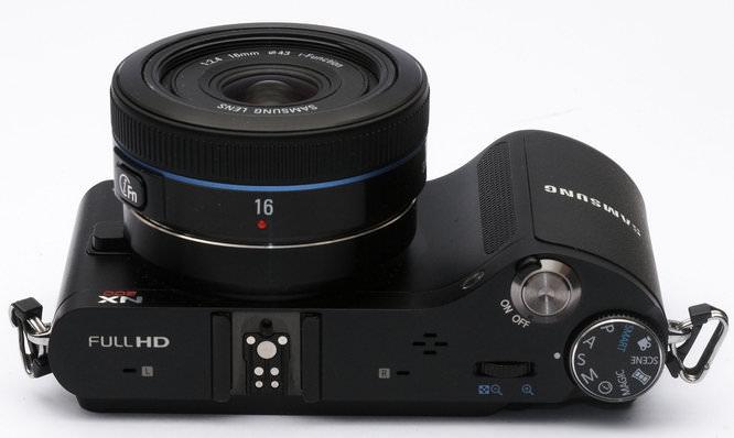 Samsung 16mm f/2.4 NX i-Function Pancake Lens