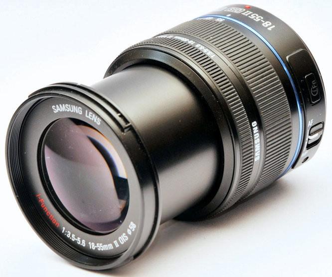 Samsung 18-55mm F/3.5-5.6 NX ED OIS II i-Function Zoom Lens