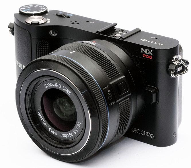 Samsung 20-50mm F3.5-5.6 ED NX i-Function Zoom Lens