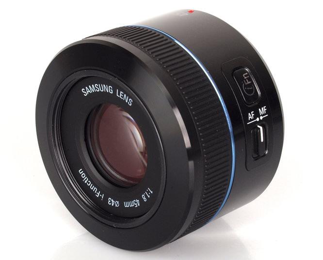 Samsung NX Lens 45mm f/1.8