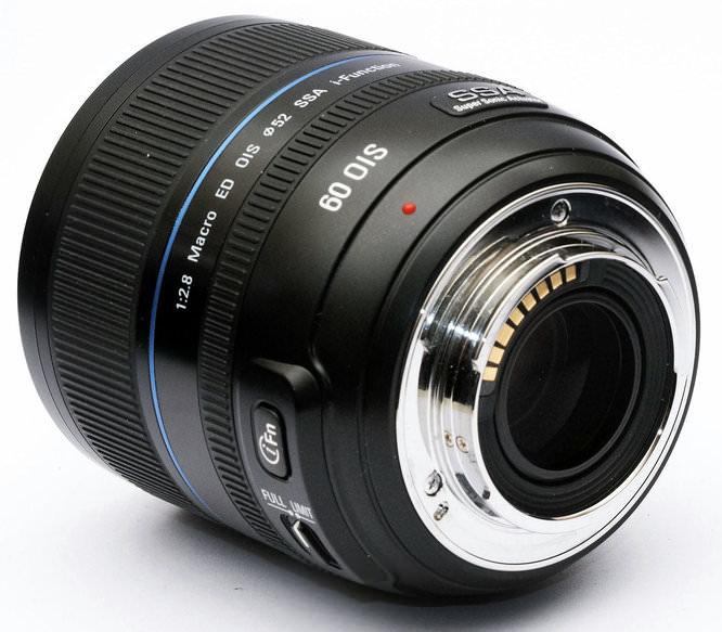 Samsung 60mm f/2.8 NX i-Function Macro Lens