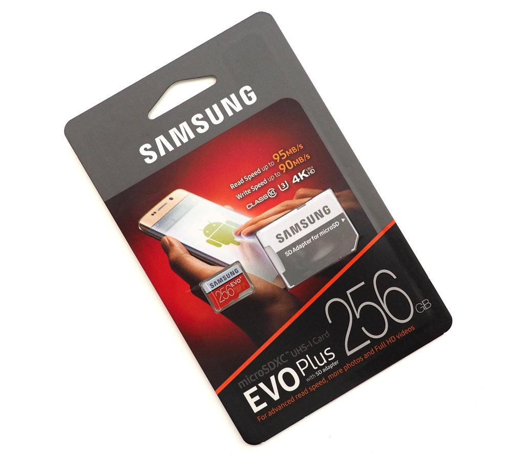 Microsdxc EVO Plus Memory Card w/ Adapter 64GB (2017 Model