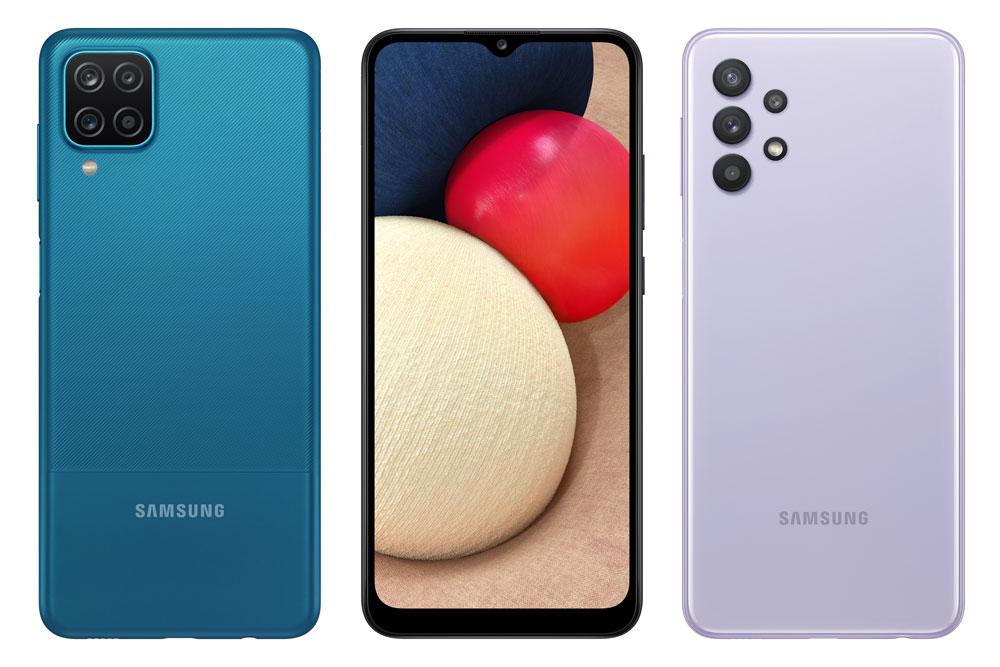 Galaxy A12, Galaxy A02s and Galaxy A32 5G