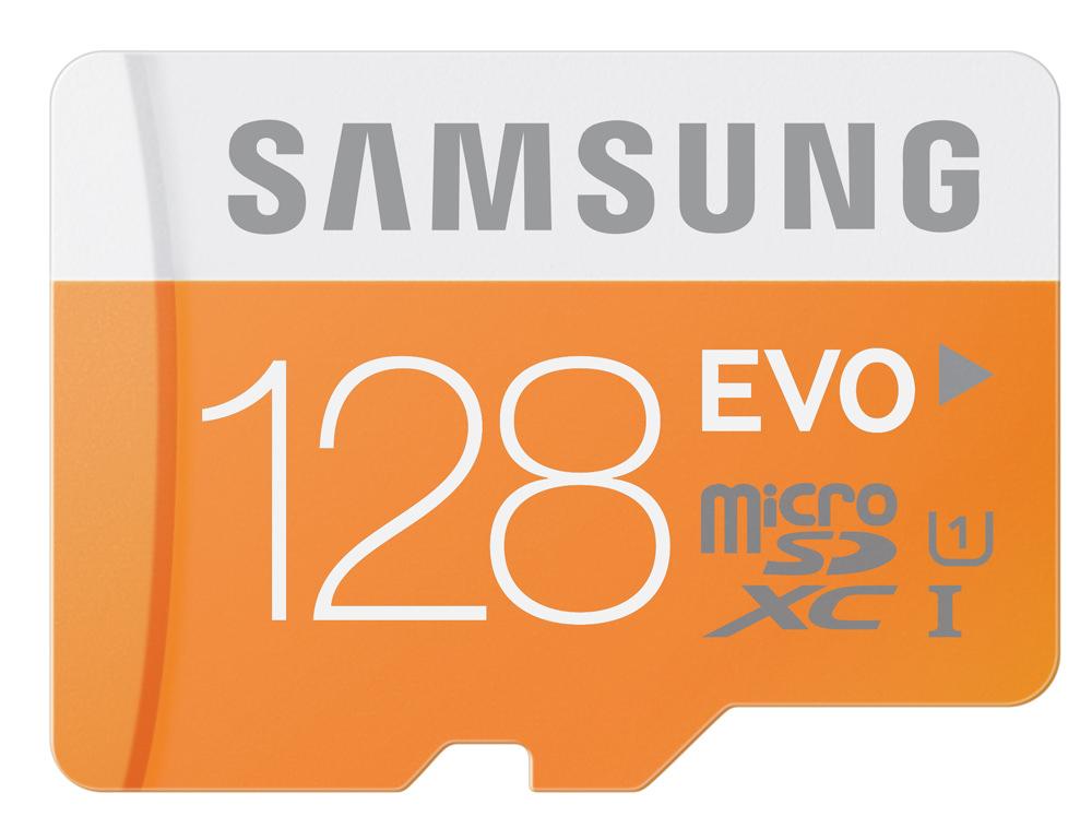 Samsung EVO 128GB MicroSD