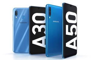 Samsung Galaxy A50 & A30 Feature Multiple Cameras, Decent Screen & Big Battery